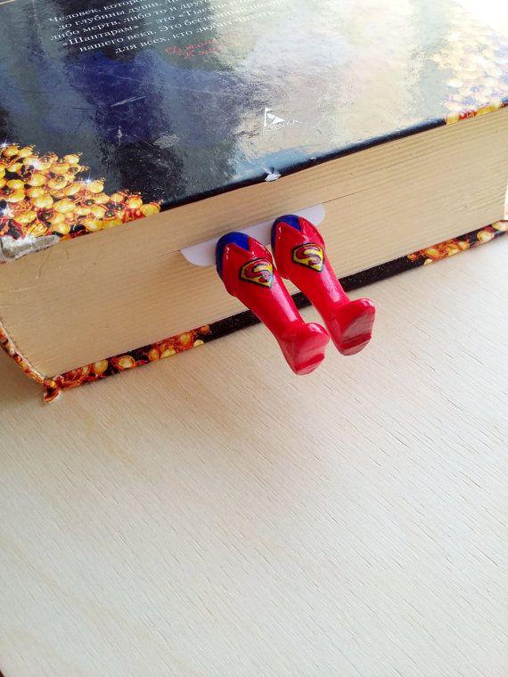 Superman bookmark, Logo superman bookmark, book club gift, gift for him superman bookmark, teacher gift superman book mark, superman, books