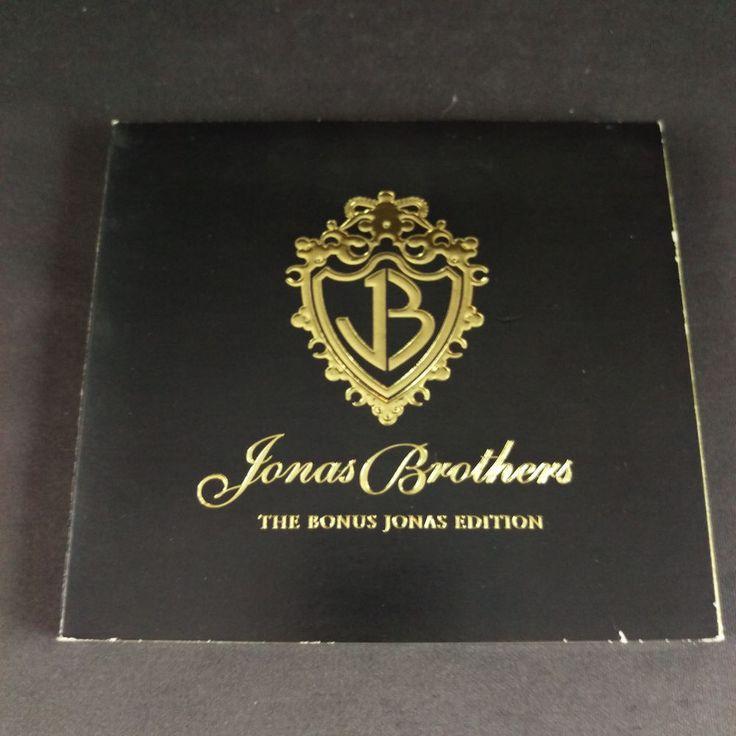 Jonas Brothers Bonus Edition CD 2007 Pop Music Hannah Montana and Concert DVD  #TeenPop