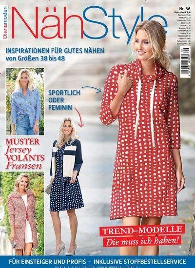 Trend-Modelle: Die muss ich haben - Muster - #Jersey - Volants ...