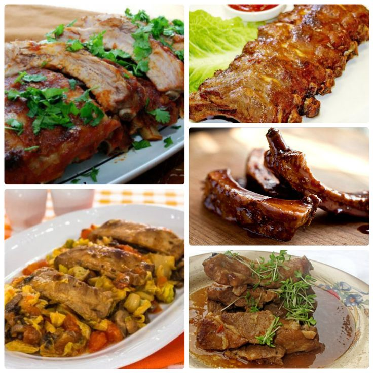Как приготовить вкусные свиные ребрышки