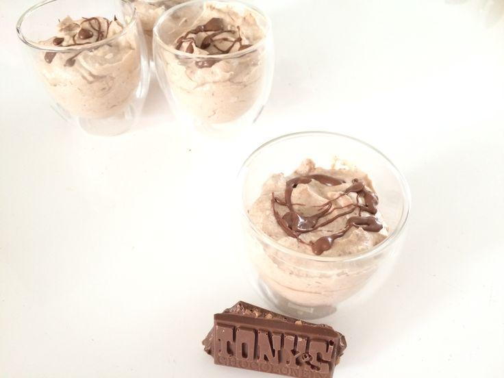 Tony's Chocolonely karamel/zeezout chocomousse
