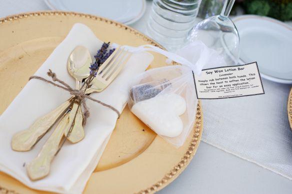 My lavender lotion soap favours!