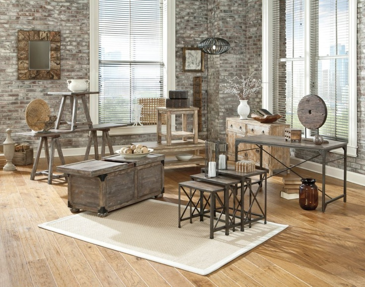 Relaxed And Casual, This Accent Furniture Collection Has Details That Make  A Statement In The