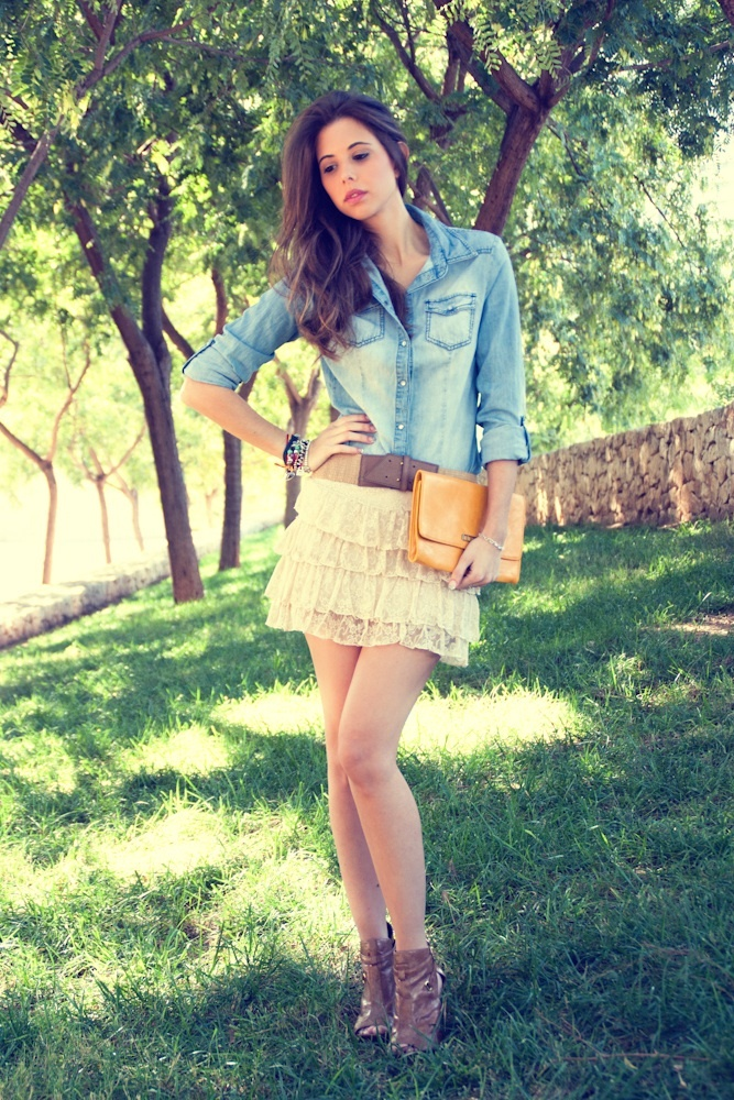 Look #streetstyle  Camicie: Only Falda: Lavand  Boots: tienda local (punta cana) Accesories: accesorize