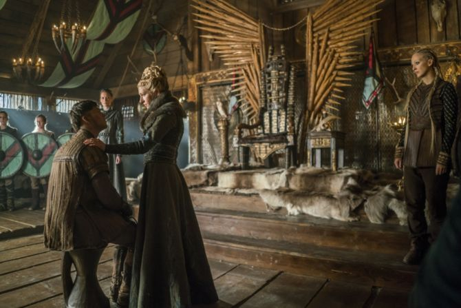 History's 'Vikings,' Season 4, Part 2, Episode 16, Crossing, Ivar the Boneless and Lagertha