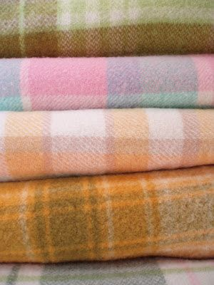 Vintage Treasure in Martinborough: 100% Pure - Vintage NZ Wool Blankets