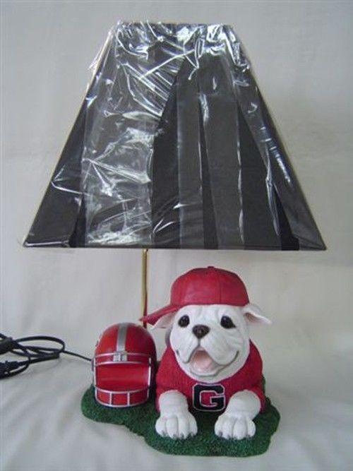 Georgia Bulldogs Uga In Training Table   Desk Lamp. 26 best Georgia Bulldogs Nursery Kid s Room images on Pinterest