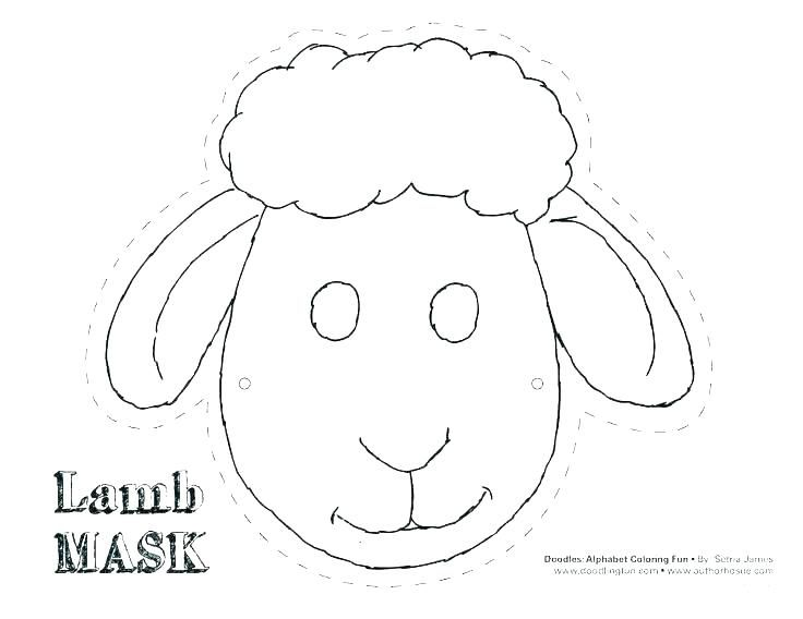 Printable Masks To Color Jungle Animal Mask Template Free Coloring