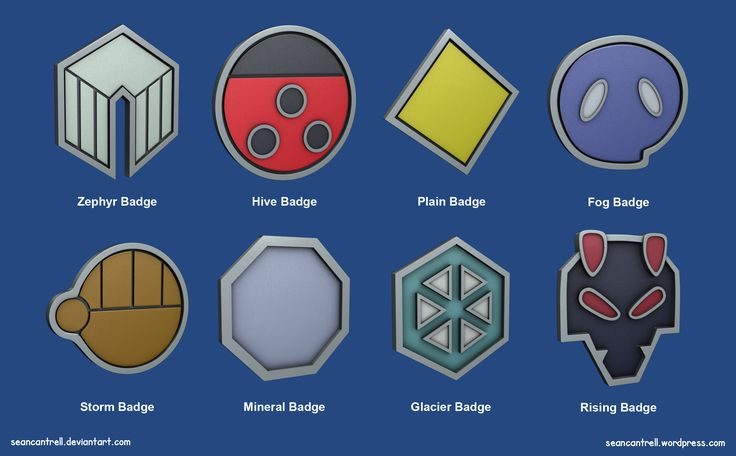 johto badges - Google Search