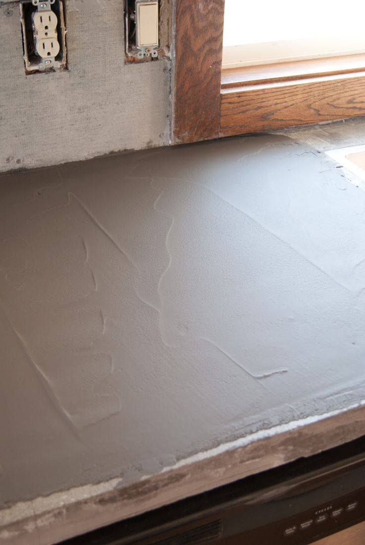 Thinset Concrete Countertops Best 25 Concrete Countertops Over Laminate Ideas That You Will