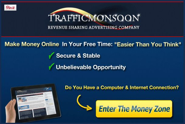 Make Money Online With Traffic Monsoon