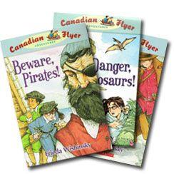 Canadian Flyer Adventure series books by Frieda Wishinsky