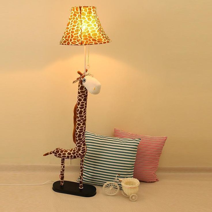 Promotion folle bande dessinée ikea chambre lampadaire mode simple verticale girafe lampadaire(China (Mainland))