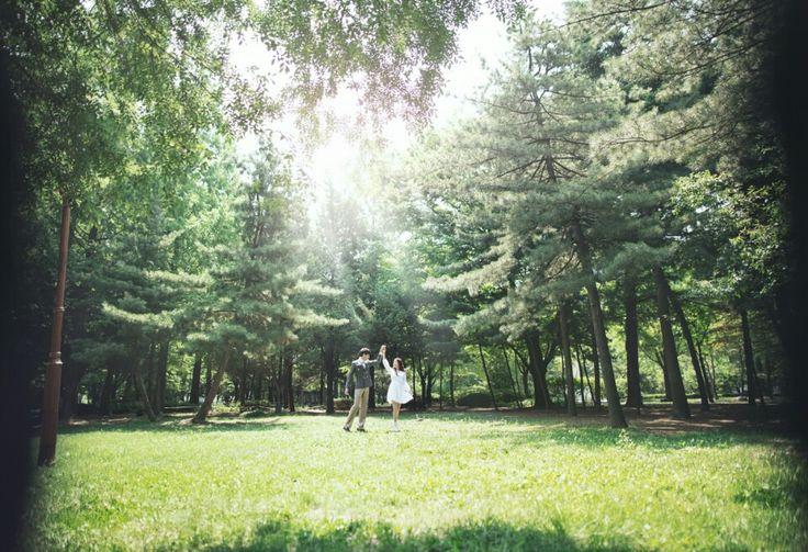 Korea Pre-Wedding Photography in Studio & Dosan Park, Seoul by May Studio on OneThreeOneFour 27