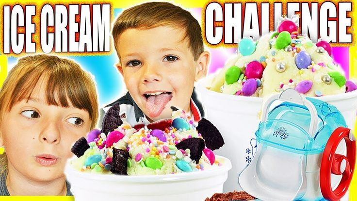 Kids Ice Cream Maker Play Make Your Own Ice Cream Toy Unboxing ABC Child...