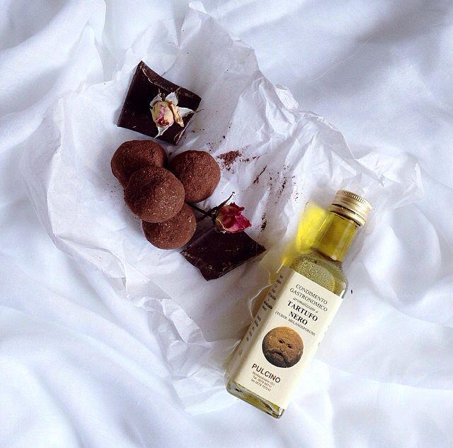 Tartufo Nero and chocolate