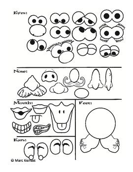 mr potato head pieces for plant cups