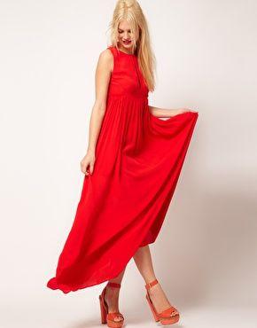 Yes.  Absolutely.: 91 Sleeveless, Asos Sleeveless, Sleeveless Pleated, Pleated Maxi Dresses, Formal Dresses, Asos 95 59, Dramatic Maxi, Asos Maxi