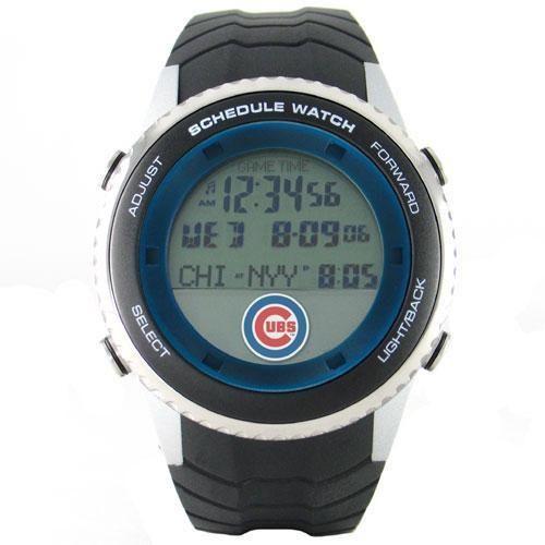 Chicago Cubs MLB Men's Schedule Watch xyz