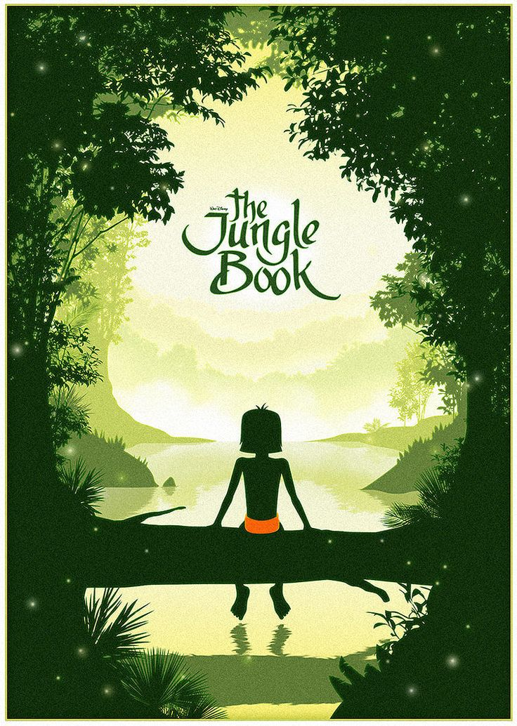 Mowgli - Jungle book minimalist poster