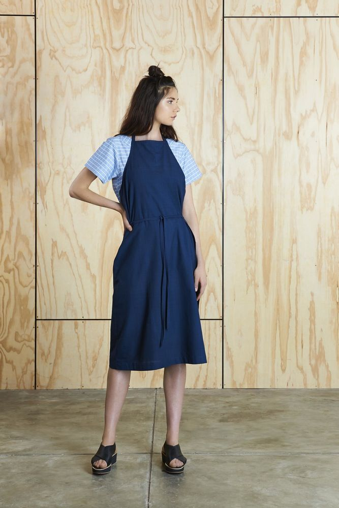 Image of Apron Wrap Dress