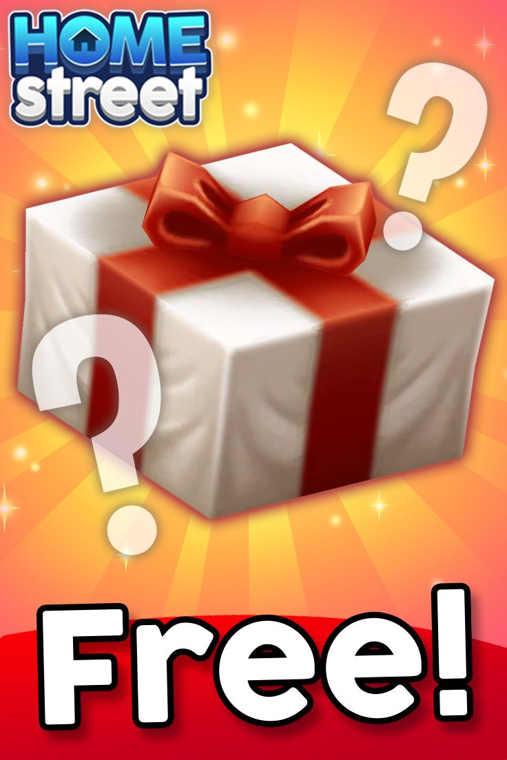 Guess the FREE Gift!   Pre-register to be one of the first to play Home Street and to receive a FREE Exclusive Gift at worldwide launch. What do you think the free gift will be?  Comment below!  Pre-register now! >> http://bit.ly/2fEf4lx