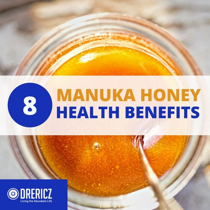 Manuka honey benefits are as much as four times greater than normal flower honeys. Manuka honey is found in New Zealand when bees pollinate the Manuka bush.