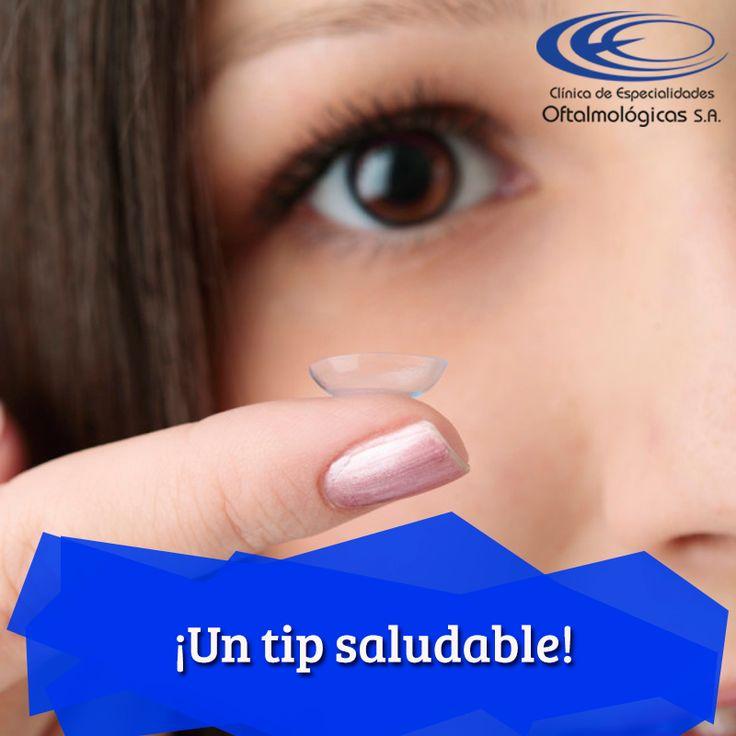 Si usas lentes de contacto recuerda ponértelos antes de maquillarte y de desmaquillarte #TipsCEO www.ceomedellin.com   Foto vía http://goo.gl/McxPNS