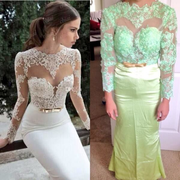 13. That's what you get when you order your wedding dress online