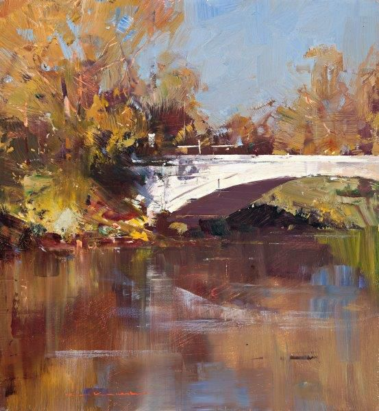 Ken Knight, Bridge and River Reflections