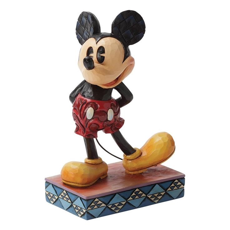 Jim Shore The Original - Mickey Mouse Figurine (Disney Tradition)