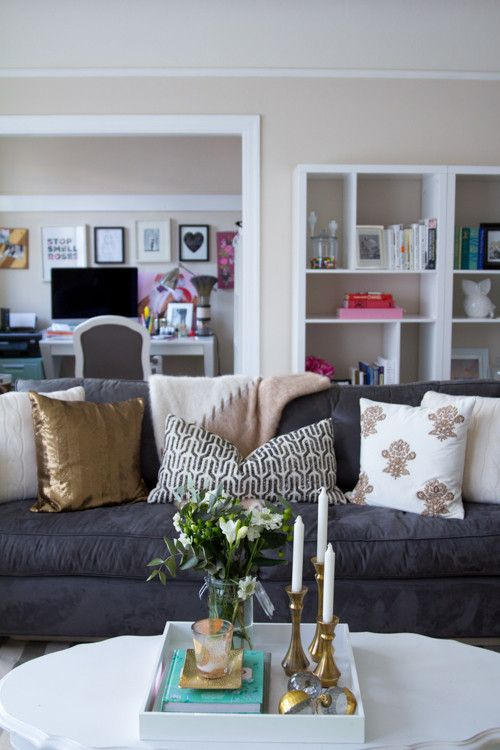 Gold And Gray Living Room: Image Result For Navy, Gray And Gold Living Room