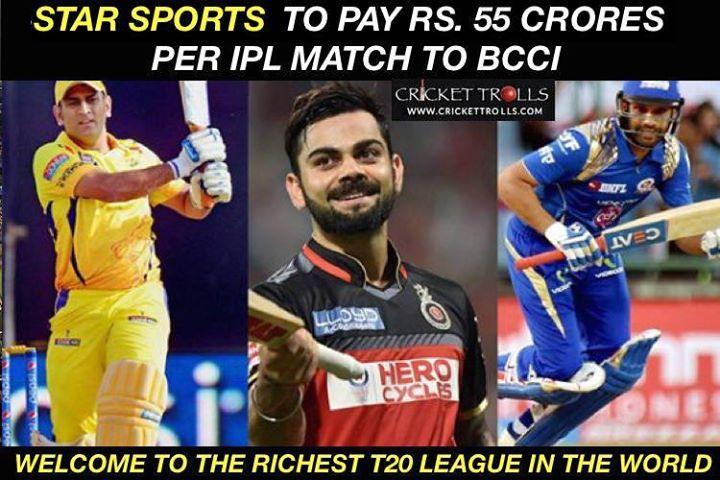 That S Cash Rich Ipl For You Ipl2018 Facebook Com Mycrickettrolls Bollywood Funny Ipl Cricket
