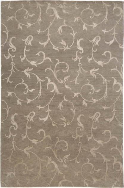Lantana silver rug