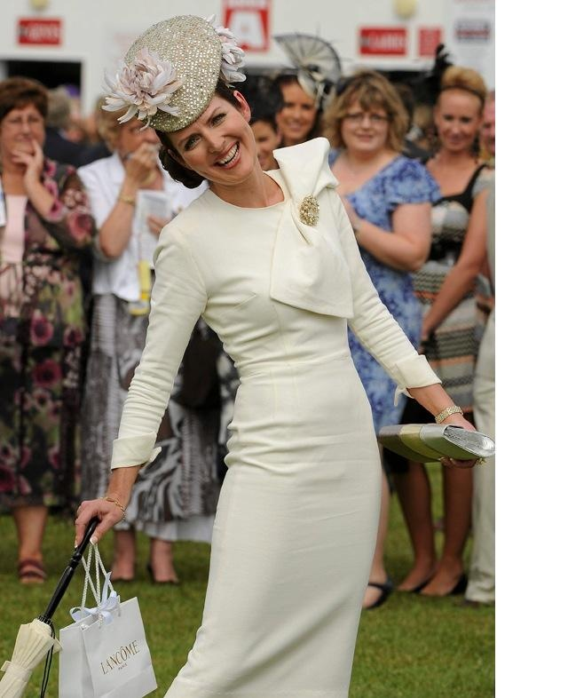 Annmarie O'Leary, Best Dressed Lady at the 2010 Galway Races