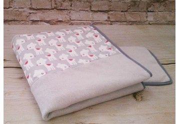 ORGANIC Duvet & pillow set Scandinavian deer