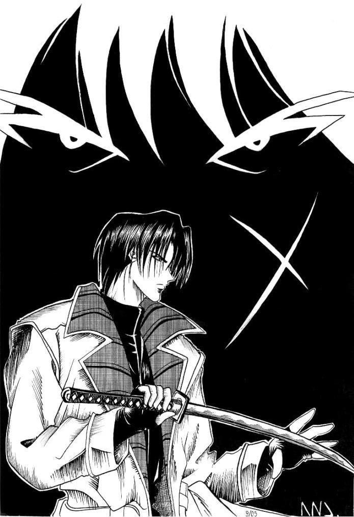 Demon Lord Kenshin by w-LiNa-w   Demon, Rurouni kenshin