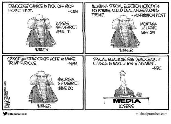 RealClearPolitics - Cartoons of the Week - Michael Ramirez for Jun 22, 2017 - Political Cartoons