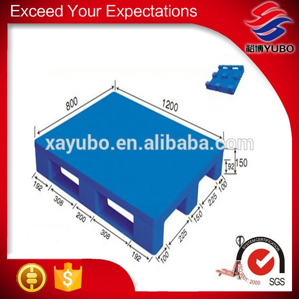 good quality heavy duty blue plastic euro steel pallets for sale