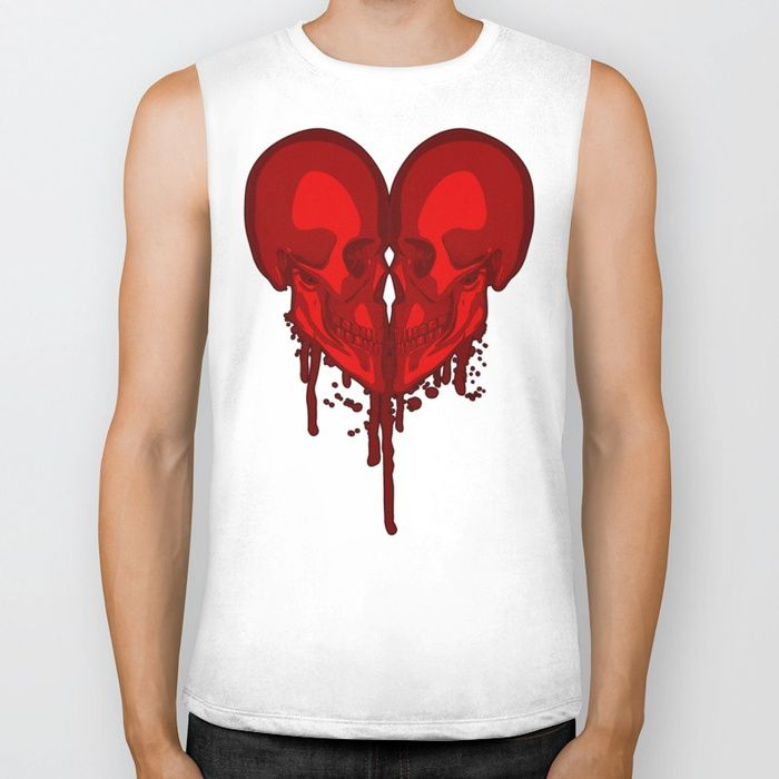 Buy Eternal Valentine Biker Tank by grandeduc. Worldwide shipping available at Society6.com. Just one of millions of high quality products available.