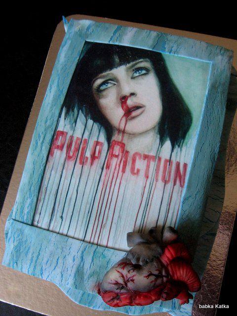 Pulp Fiction cake - trocha drsnejšia torta pre milovníka tohto kultového filmu