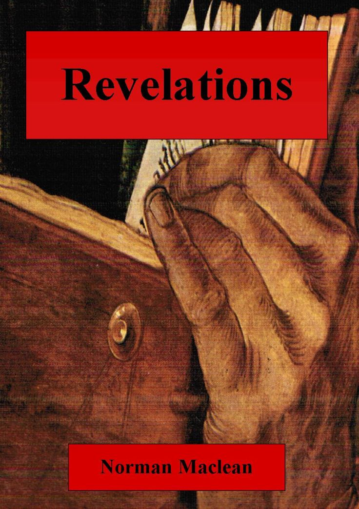 Book cover for Revelation by Norman Maclean