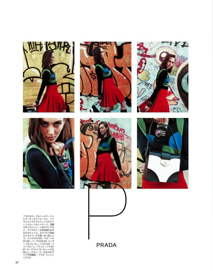 visual optimism; fashion editorials, shows, campaigns & more!: nathalia, anna, rhianna, carolina and caitlin by jiro konami for spur april 2014