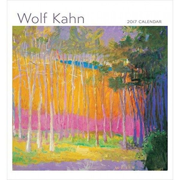 2017 Wolf Kahn Wall Calendar  Wolf Kahn (American, b. Germany 1927) uses the seen world as a point of departure, a starting place for his investigations into the push and power of #harmonic #colors. Paradoxically, given that he often works in nearly violent colors...