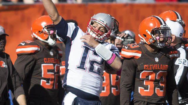 Did Tom Brady Dab In Patriots' Win Over Browns? QB Explains Celebration   New England Patriots   NESN.com