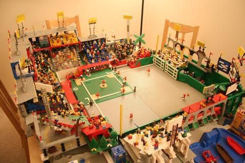 Steve Schapansky S Lego Baseball Stadium Lego Baseball Baseball Stadium Lego Sports