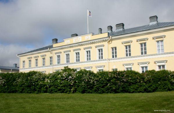 Old Postoffice building in Eckerö