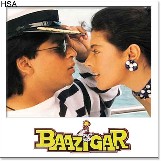 http://hindisingalong.com/baazigar-o-baazigar-baazigar.html  Name of Song - Baazigar O BaazigarAlbum/Movie Name - BaazigarName Of Singer(s) - Kuma Sanu, Alka YagnikReleased in Year - 1993Music Director of Movie - Anu MalikMovie Cast - Shahrukh Khan, Kajol, Siddharth...