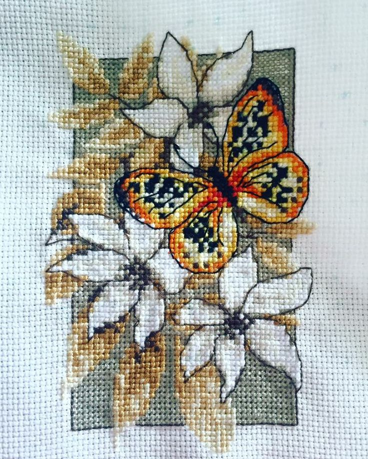 Vervaco Butterfly Kit Part 3