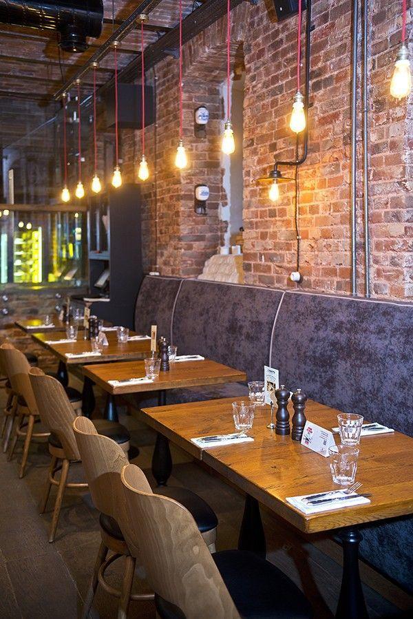 rustic restaurant interior